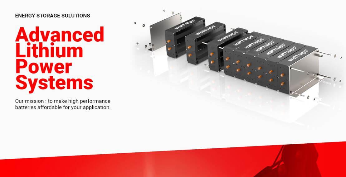 Créée en février 2018, WATTALPS conçoit, assemble et commercialise des batteries modulaires haute performance. Grâce à des engins et des Powerbanks mobiles (30 kWh à 1 MWh), il rend possible les chantiers zéro émission.