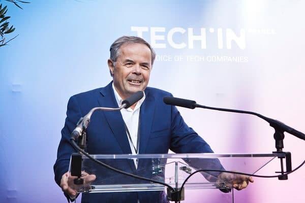 Pierre-Marie Lehucher, Président de TECH IN France (c)  Crédits Stéphane Lagoutte