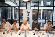 Un dîner organisé avec le soutien de VMware et Intel