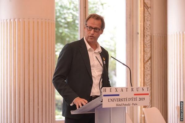 Jean-Noël de Galzain, son président, également fondateur et CEO de Wallix