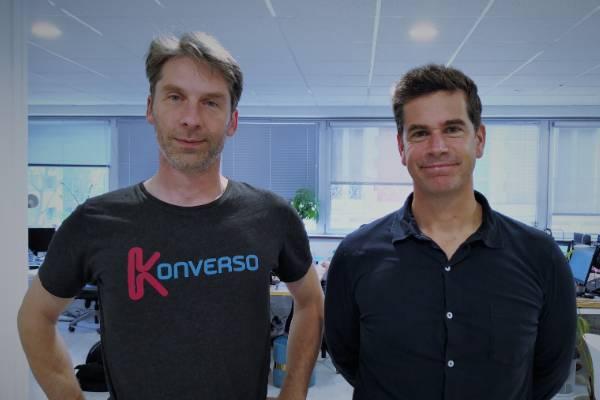 Amédée Potier (CTO) et Bertrand Lafforgue (DG)