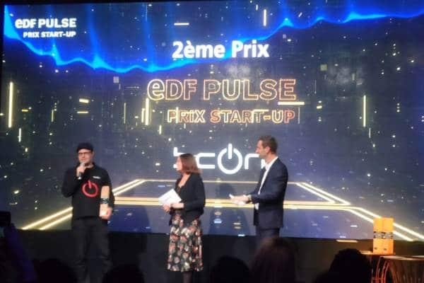 BeON en seconde place du Prix start-up EDF Pulse 2019
