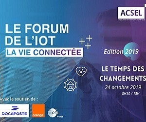Forum de l'IoT, la vie connectée : vers la massification des usages – Focus esanté et maison connectée