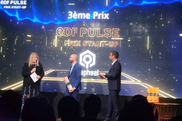 Grapheal occupe la troisième place du Prix start-up EDF Pulse 2019