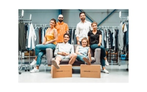 L'équipe de la start-up Le Grand Dressing