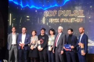 Les lauréats de la 6ème édition du Prix start-up EDF Pulse 2019