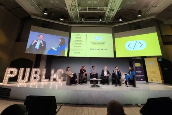 La deuxième édition du GovTech Summit s'est tenu au palais Brongniart place de la Bourse à Paris le 14 novembre.