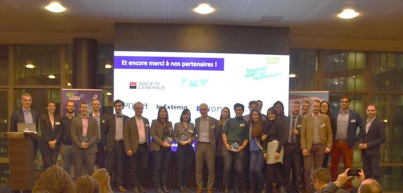 Lauréats trophée start up numérique