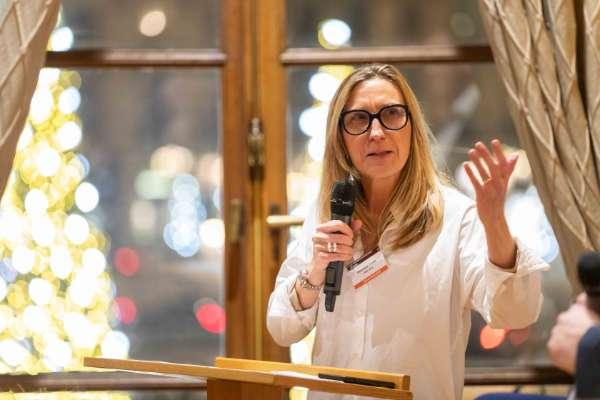 Véronique Torner, co-fondatrice et co-présidente d'Alter Way et administratrice du Syntec Numérique.