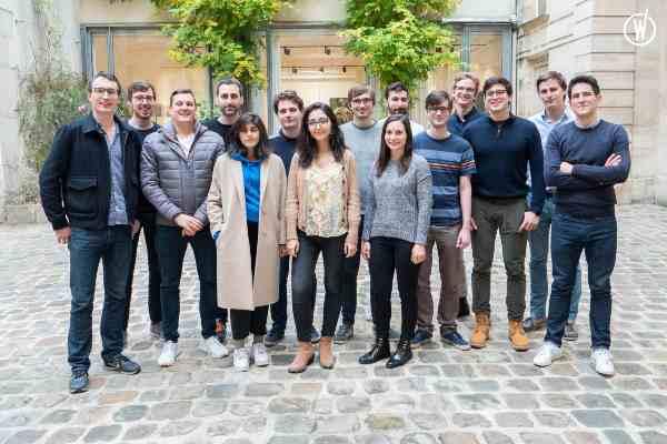 L'équipe de GitGuardian, start-up française spécialisée en cybersécurité.