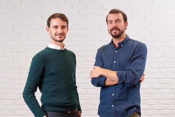 Les cofondateurs de la start-up Moodwork, Benjamin Brion, PDG (à droite) et Léopold Denis, directeur des opérations. DR