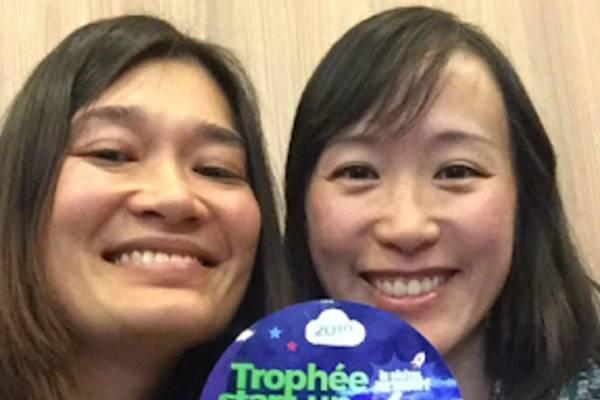 Les deux fondatrices de CircleLY ont remporté le Trophée Start-up de l'IMT Starter cette année.