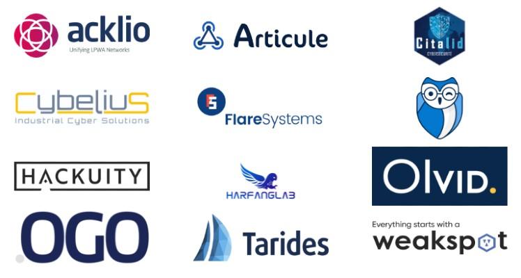 Start-up sélectionnées pour le prix Start-up FIC 2020