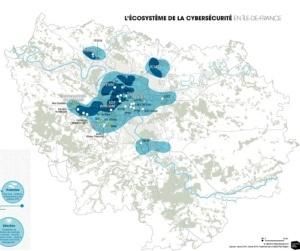l'écosystème de la cybersécurité en France (c) Institut Paris Région 2019