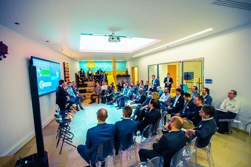 Evénement Tech Leader Exchange de VMware qui s'est tenu le 29 janvier dernier à Paris dont Alliancy était partenaire.