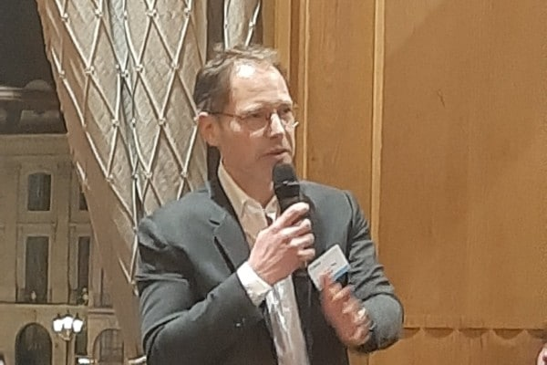 Matthieu Hug, fondateur de la start-up Tilkal.