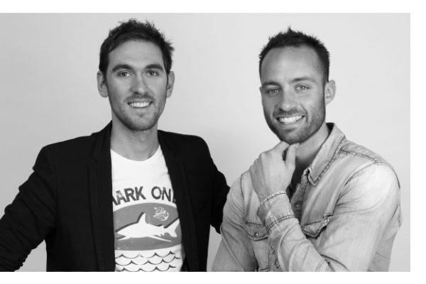 Jérémy Duris et Thibaud Michel, co-fondateurs de Twinin