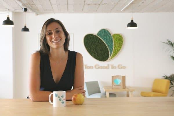 Lucie Basch, co-fondatrice et présidente de Too Good to Go