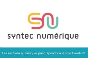 #COVID19 - Syntec Numérique lance un appel aux solutions numériques