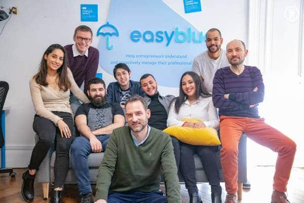 L'équipe de l'assurtech Easyblue.