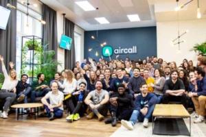 Aircall compte environ 300 personnes dans ses effectifs dont 60% en Europe et 30% aux Etats-Unis.