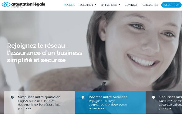 Attestation Légale, le LinkedIn administratif des entreprises