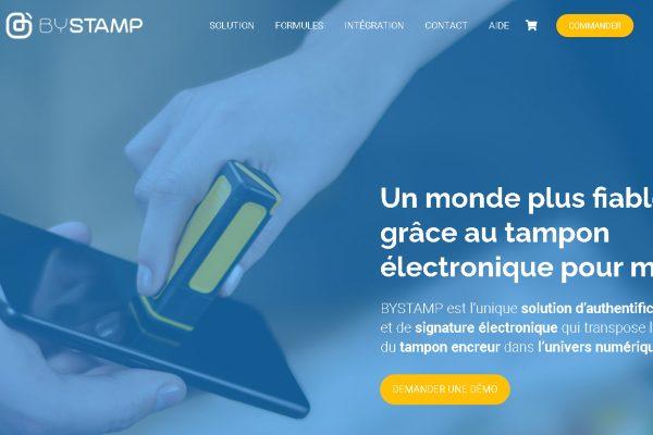 Bystamp, l'estampillage numérique sécurisé