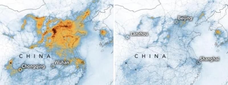 Chine carte