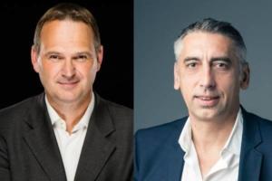 Jean-Philippe Porcherot, PDG d'Atol CD et Alain Repiquet, Directeur Général de Seenovate.