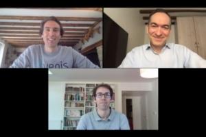 Pascal Chevrot, Gregory Serrano et Benjamin Quétier, co-fondateurs d'Invenis.