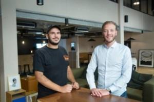Tarek Ouaguini et Nicolas Trabuc, co-fondateurs d'Happydemics.