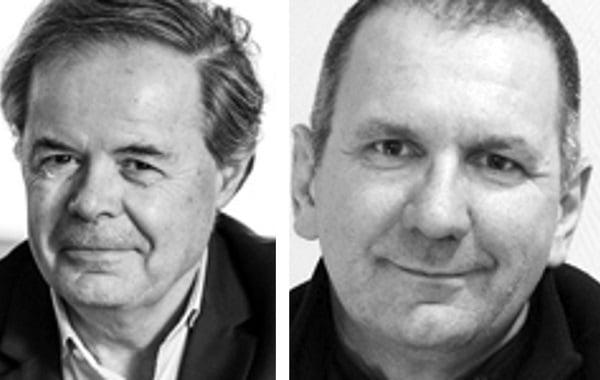 Pierre-Marie Lehucher Président de Berger-Levrault et Michel Ida Directeur des partenariats, de la stratégie et de la promotion des OPEN LABS CEA