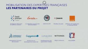 Liste des partenaires publics et privés liés au projet StopCovid.