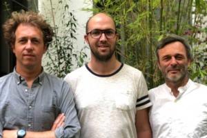 Axel Detours, Bertrand Leroy & Alexandre Plichon, fondateurs de Captain Wallet.