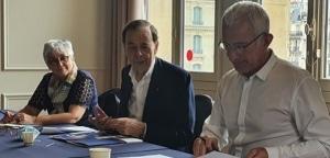 Guillaume Pepy, 62 ans, remplace Louis Schweitzer à la tête de l'association Initiative France