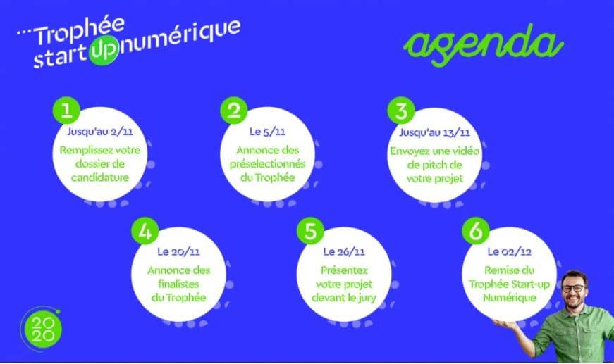 agenda trophée start-up numérique