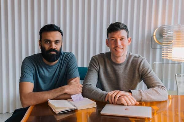 Hayden Wood et Amit Gudka, fondateurs de Bulb