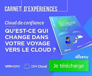 Carnet d'expériences Alliancy Cloud et Confiance
