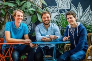 Les fondateurs de la start-up Koyeb.