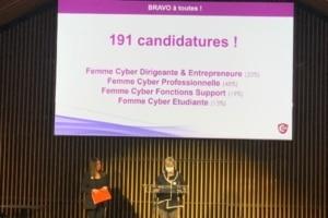 Le Trophée de la Femme Cyber, c'est 191 candidatures, 29 Nommées, 4 catégories, 1 Coup de coeur du jury et 1 Coup de coeur du Cefcys.