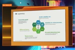 Les principaux arguments donn_s par Orange sur le potentiel de la 5G dans l'industrie de demain.