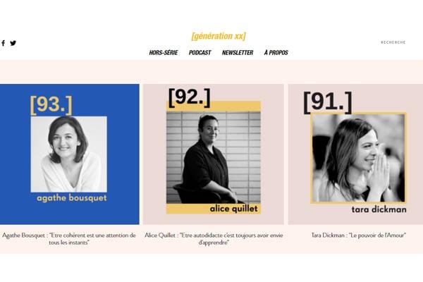 GenerationXX croît dans la femme entrepreneure
