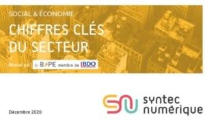 Le nouveau bilan du Syntec Numérique sur les chiffres clés du secteur et ses perspectives de croissance pour 2021.