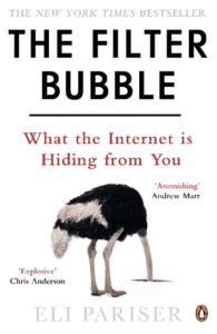 """Eli Pariser est à l'origine du concept de """"bulle de filtre"""" qu'il a théorisé dans son ouvrage """"The Filter Bubble: What The Internet Is Hiding From You"""" en 2012."""
