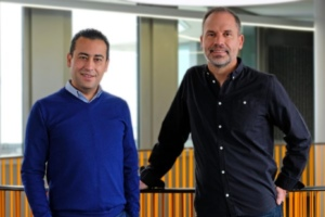 Noureddine Bekrar et Christophe Dandois, co-fondateurs de Leocare.