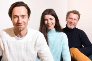 Francis Lelong, Christelle Curcio, Chief et Thomas Bonnenfant, fondateurs d'Alegria.tech.