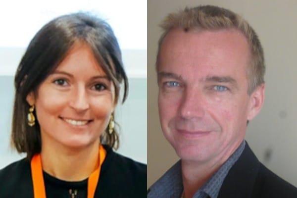 Frédéric Le Roy et Anne-Sophie Fernandez, directeurs de la chaire Coo-innov.