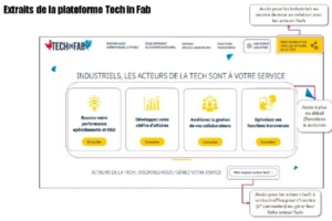 1000 acteurs de la Tech sont référencés sur «Tech in Fab», dont la moitié pour des activités transverses et supports (logistique, RH…)