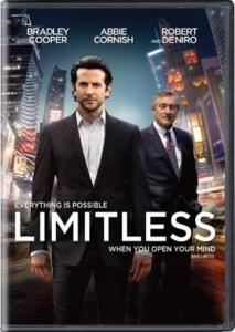 Réalisé par Neil Burger en 2011, Limitless met en scène Bradley Cooper qui consomme une nouvelle drogue appelée NZT qui le rend plus intelligent. Ce film exploite le mythe selon lequel nous n'utiliserions qu'une petite partie des capacités offertes par notre cerveau.