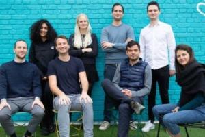 L'équipe de la jeune start-up française Onepilot.